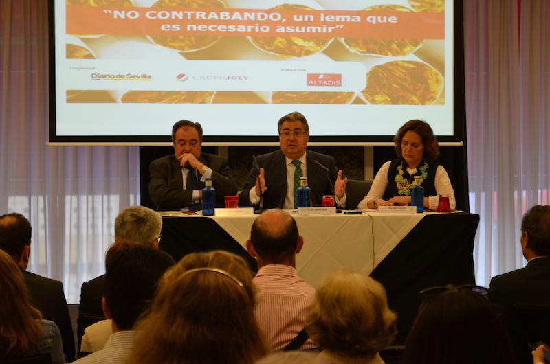 Altadis organiza un seminario sobre los perjuicios del contrabando de tabaco en Sevilla