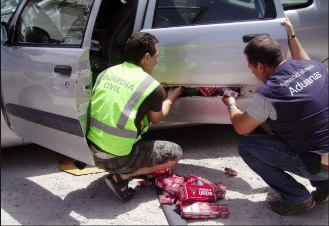Gibraltar y La Línea, puntos críticos del contrabando