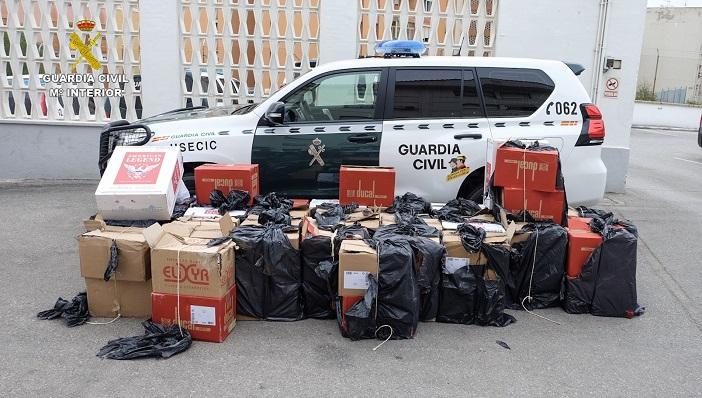 Cae la mayor red de contrabando de tabaco del Campo de Gibraltar